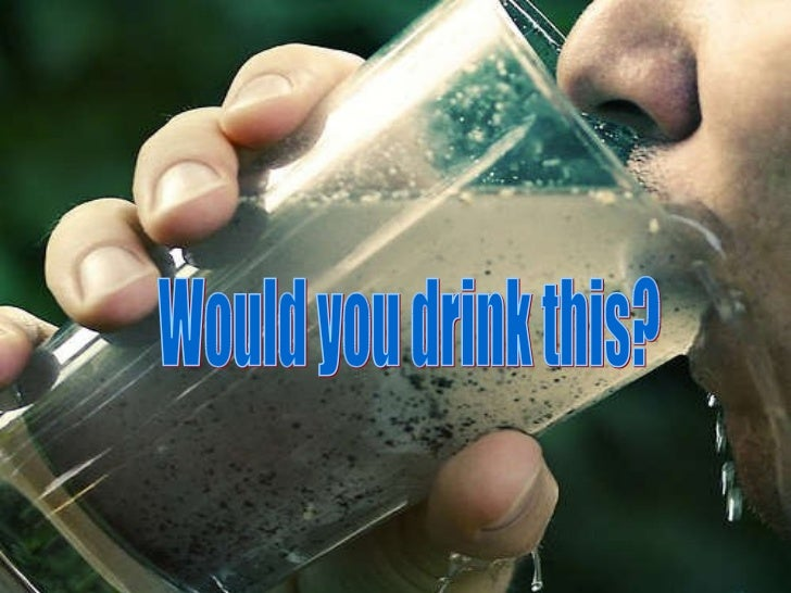 Would you drink this?