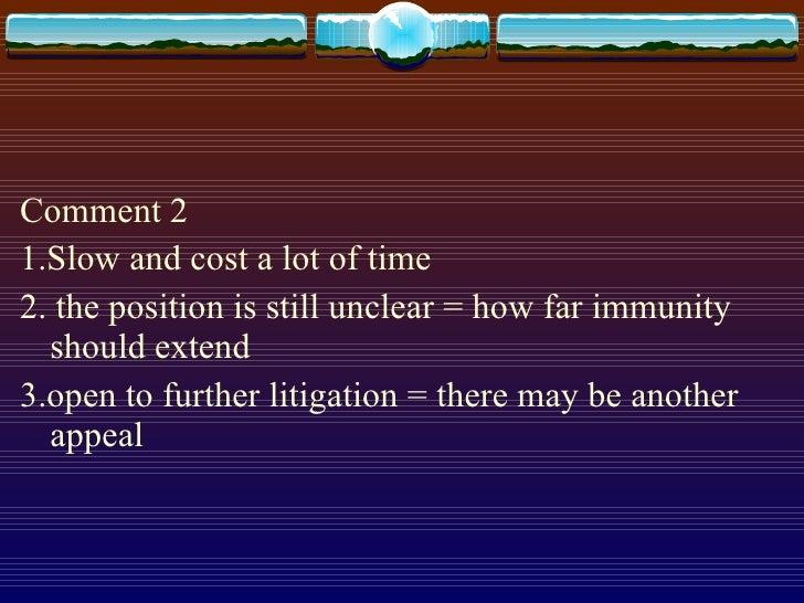 <ul><li>Comment 2 </li></ul><ul><li>1.Slow and cost a lot of time </li></ul><ul><li>2. the position is still unclear = how...