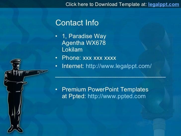 Traffic police powerpoint presentation template download template at legalppt 6 toneelgroepblik Choice Image