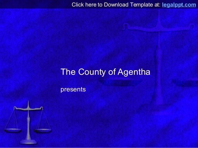 Scales of justice free law powerpoint template click here to download template at legalpptthe county of agenthapresents toneelgroepblik Images