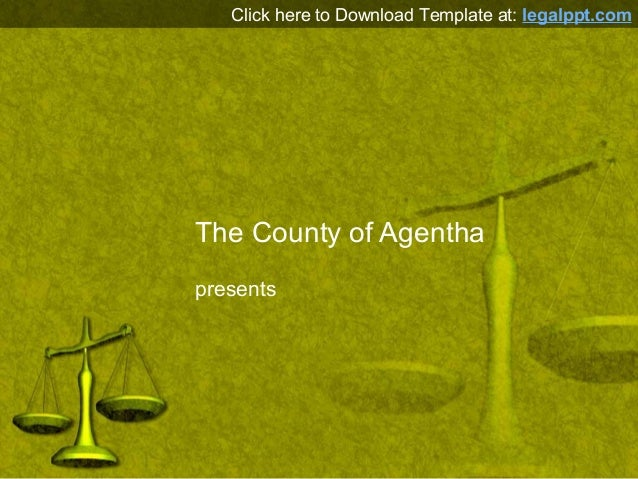 Free Scales Of Justice Powerpoint Template Background