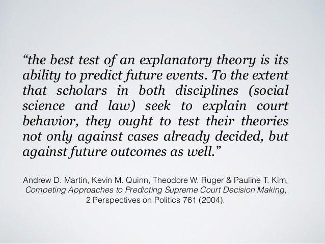 Legal Analytics versus Empirical Legal Studies - or - Causal