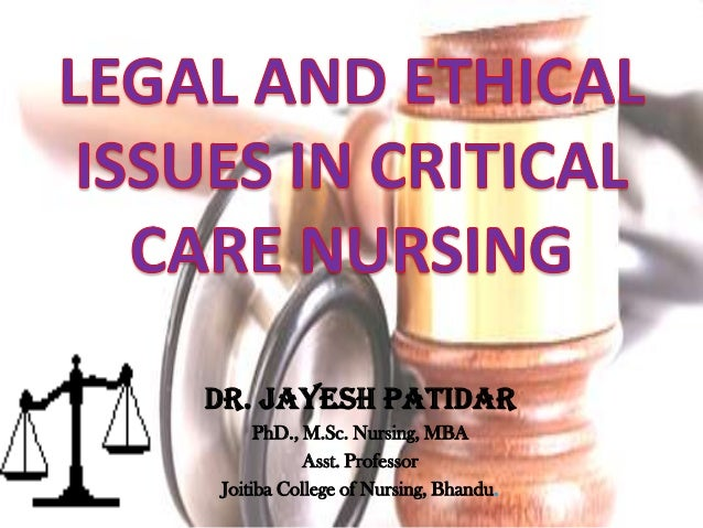 ethical and lagal issues in nursing Keywords: case study nurse ethics, nursing ethical duties, nurses are subject to a large number of ethical, legal and professional duties which are so many to be discussed in this essay so that is why only main important ethical and legal duties will be discussed in this essay.