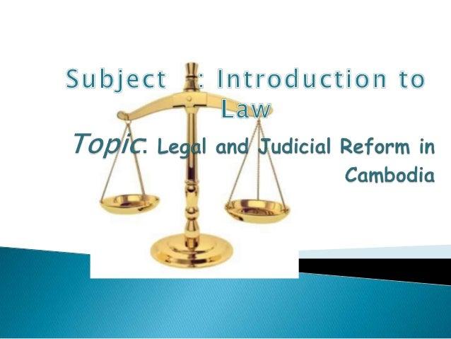 I. IntroductionII. Methodology for formulation of legal andjudicial reform strategiesIII. The Values DocumentIV. Vision st...