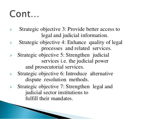  Legal and judicial reform is currently in theimplementation phase . The secretariat of the Councilfor Legal and Judicial...