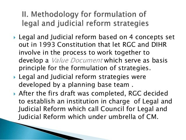  Values Document which inform legal reformprocess is based on 4 principles :1. Liberal democracy2. Rule of Law3. Separati...