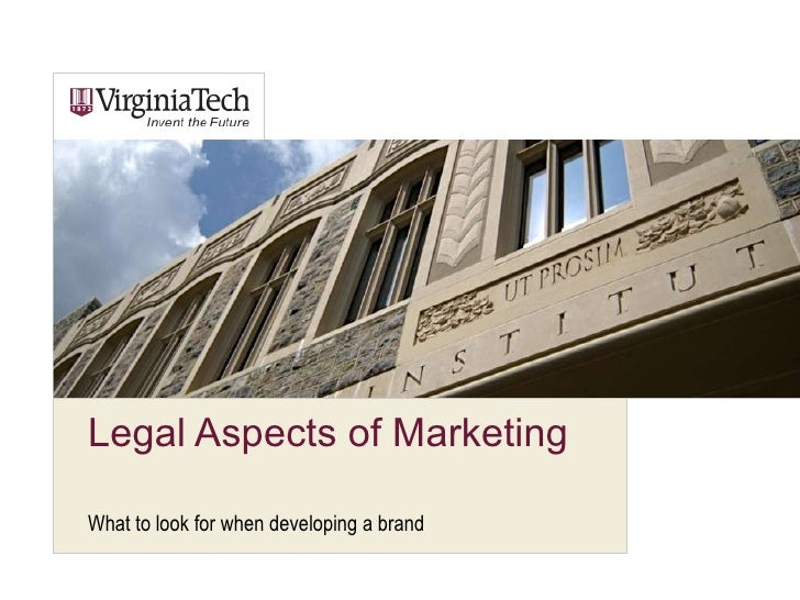 legal aspects in marketing Ethical issues in marketing communication by nicole manuel - updated september 26, 2017 ethical communication about your goods and services is not only a legal matter, but it can also determine your company's sales.