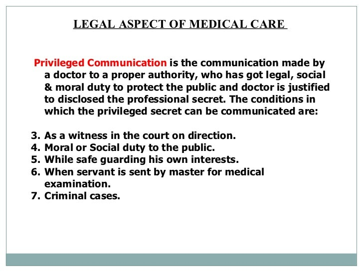 legal aspects of health care Hca 340 legal aspects of health administration section: 01 days: monday - wednesday the primary text for the course is legal aspects of health care.