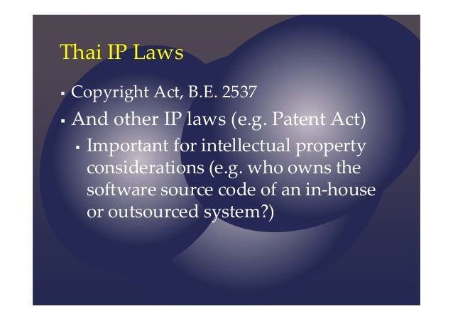 copyright law and industrial design A graphic feature in an industrial design will be copyrightable even if, when   the basic purpose of copyright law is to protect an author's.