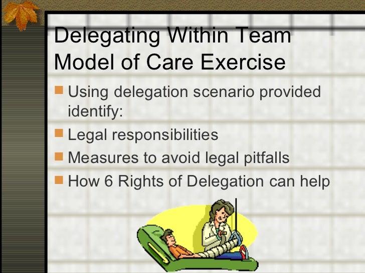 Nursing Delegation