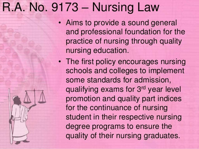 difference of republic act 7164 and 9173 Comparison of ra 7164 and ra 9173 republic act 7164 an act regulating the practice of nursing in the philippines article i title republic act 9173 the philippins nursing.