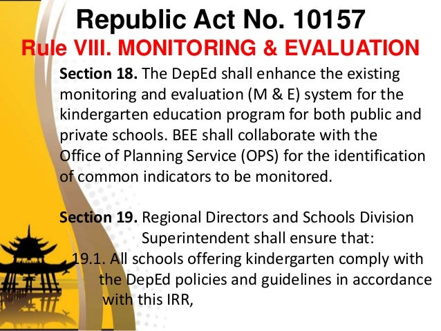 kindergarten education act r a 10157 1 pafe kindergarten - free download as powerpoint presentation (ppt / pptx), pdf file (pdf), text file (txt) or view presentation slides online 1 pafe kindergarten.