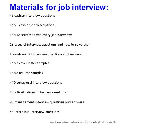 High Quality Interview Questions And Answers ...