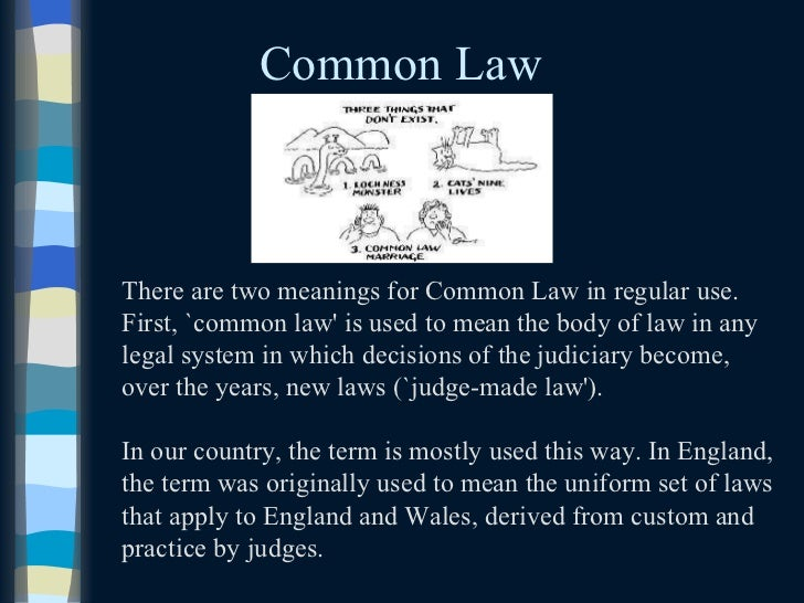 Legal concepts and definitions of legal terms