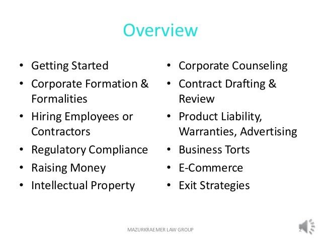 Business Law Tutorial