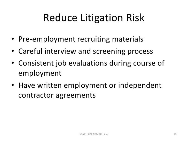 C. HR Issues-Hiring Employees & Contractors<br />Employment Agreements<br />Consulting Agreements<br />Covenant Not to Com...