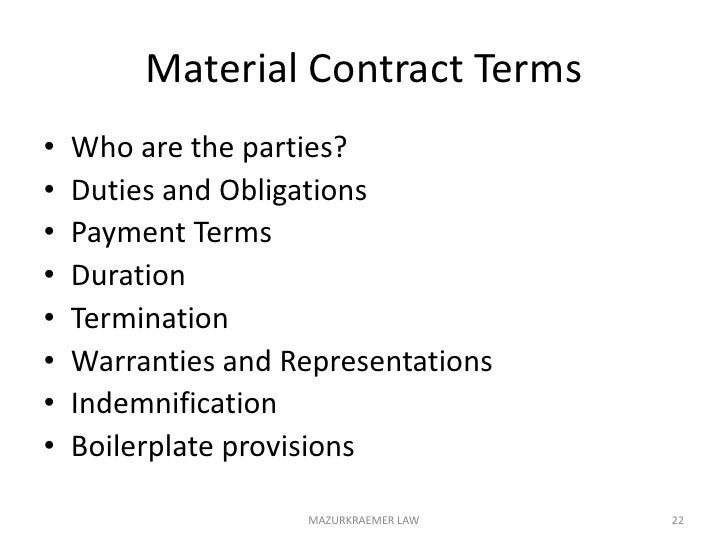 H. Contract Drafting & Review<br />Commercial Property Leases<br />Equipment Leases<br />Agreements of Sale for Property<b...