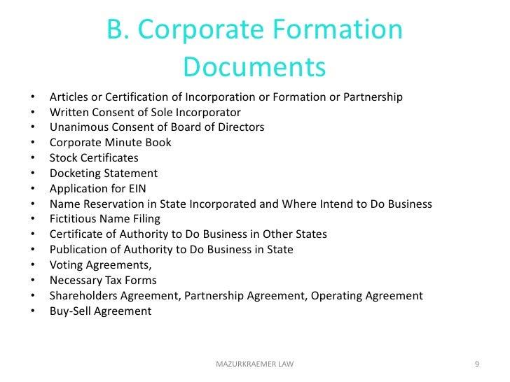 Location visibility</li></li></ul><li>Choose Business Entity<br />Sole Proprietorship ***<br />C Corporation <br />S Corpo...