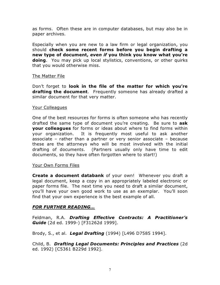 legal documents on line