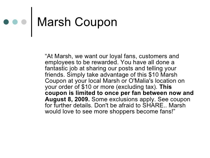 Delightful ... 6. Marsh Coupon ... Regard To Coupon Disclaimer Examples