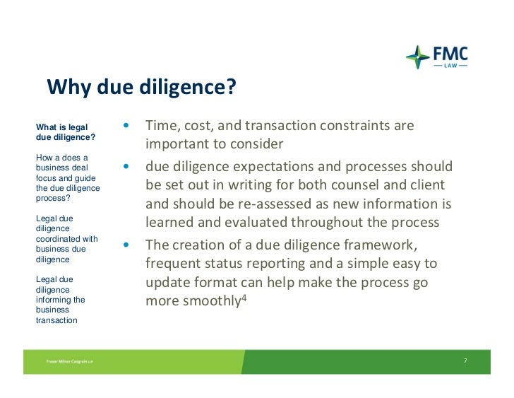 How to write a legal due diligence report for Legal due diligence report template