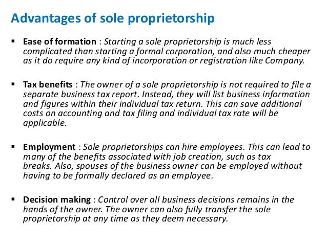 Differentiate between a sole proprietorship and general partnership.