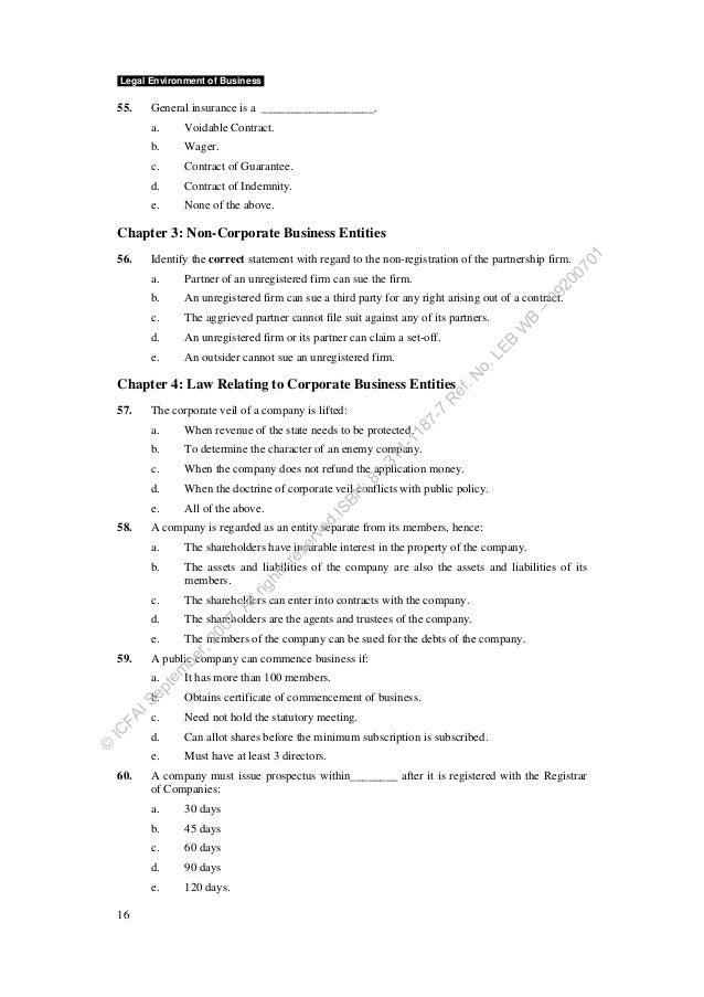 legal environment of business Business environment  assessing the influence of the business environment  determine the influence that the policy and legal framework and the broader business.