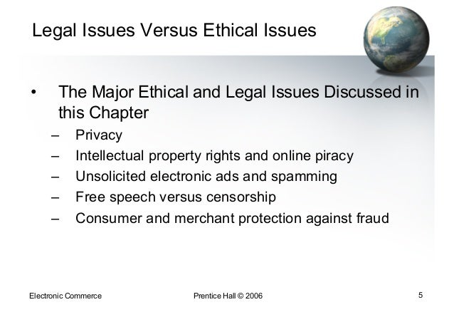 d q ethical and legal issues Behavior modifiers are currently confronted with ethical issues traditionally faced  will ultimately be subject to legal and ethical examination.