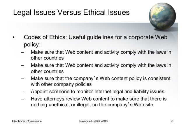The Ethical Problems In E-Business