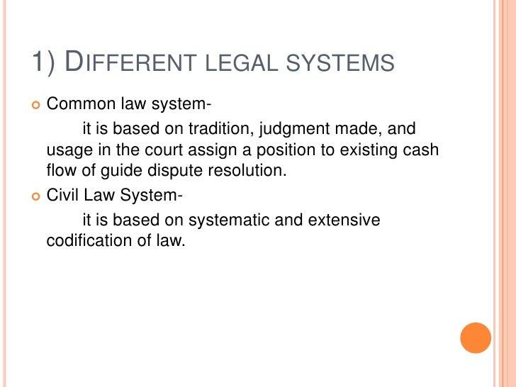 Legal factors