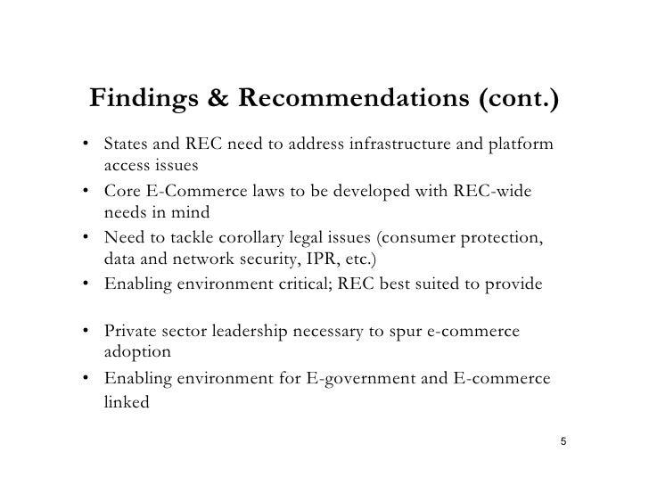 Legal Framework For E Commerce In Ecowas Africa