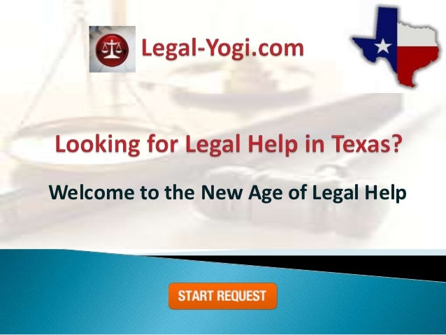 Welcome to the New Age of Legal Help