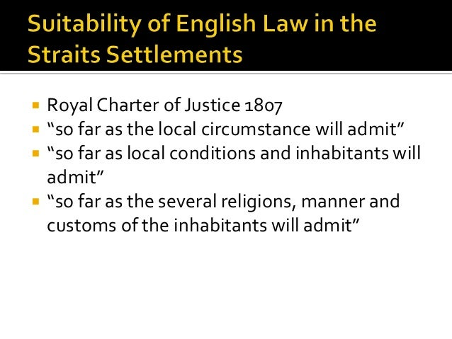 malaysian legal history Although the early peoples of the malay peninsula were varied, they shared a   from the perspective of legal history, an argument could be made that the.