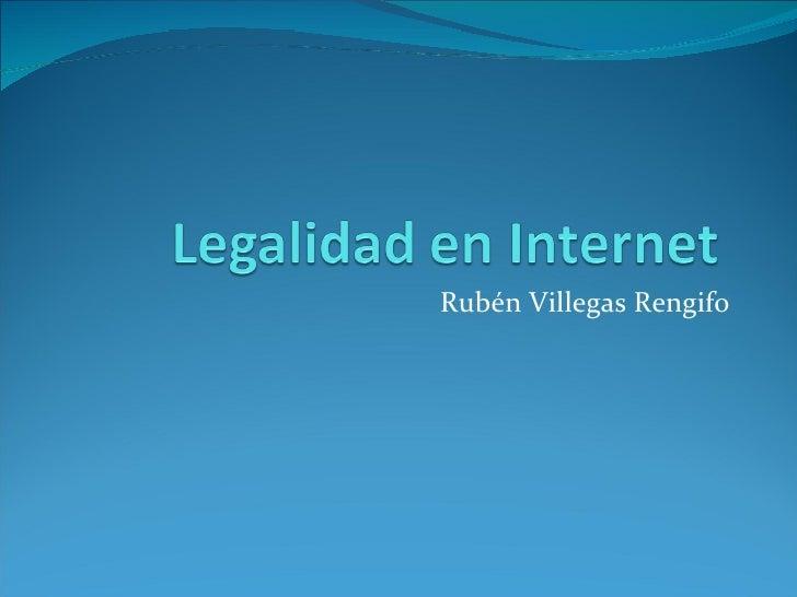 Rubén Villegas Rengifo