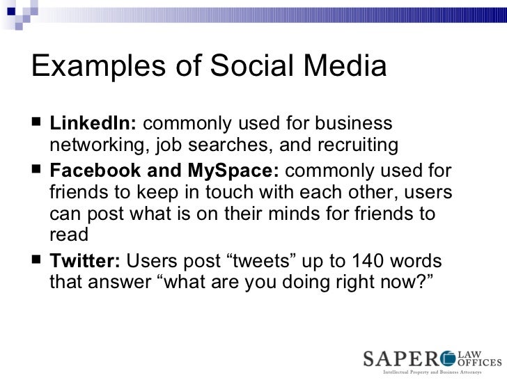 legal issues with social media marketing
