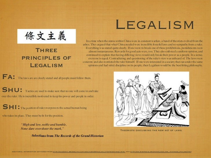 Legalism in china