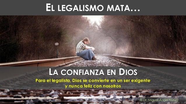 El legalismo mata... Slide 3