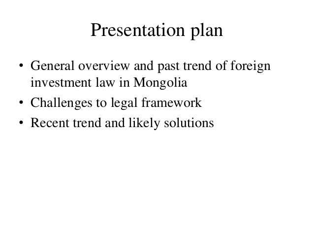 legal issues on foreign investments in An overview of china's draft foreign investment law and the implications for overseas investors looking to begin, continue, or expand operations in china.