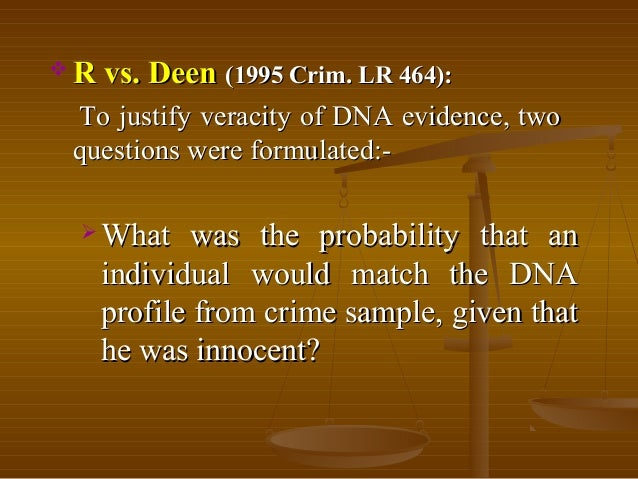 legal aspects of dna fingerprinting essay Academic papers writing discuss the moral and ethical aspects of dna fingerprinting evidence in the courtroom 0 responses on dna fingerprinting research paper.
