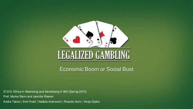 ethics associated with gambling