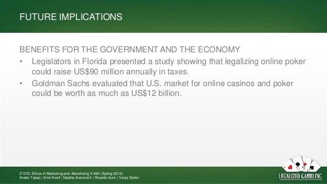 Legalized gambling benefits casino coupon free money rtg