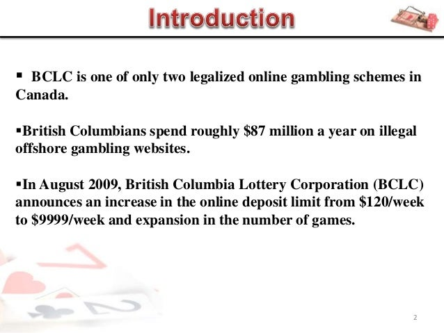 British columbia internet gambling palms springs casino