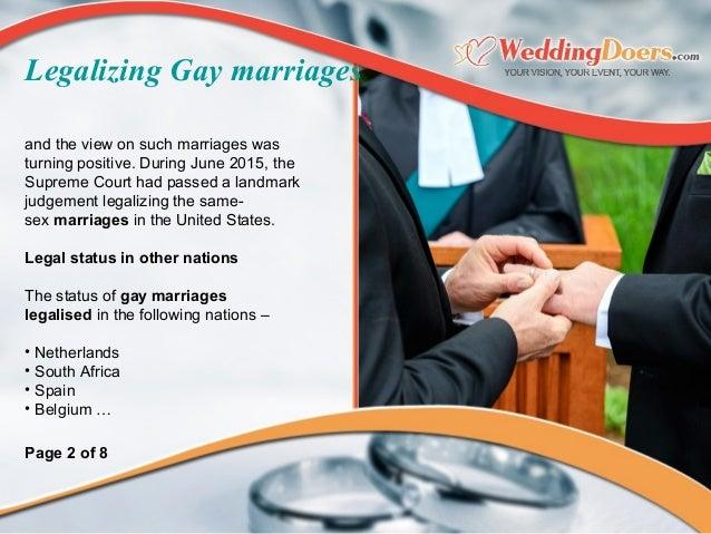 andtheviewonsuchmarriageswas turningpositive.DuringJune2015,the SupremeCourthadpassedalandmark judgemen...