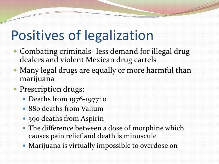legalizing drugs essay Drugs legalization essay | bartleby wilsonwhen i mentioned in my last column that our federal (and manystate) drug laws were irrational, i was immediately greeted withthe demand that we solve the problem by legalizing drugs.