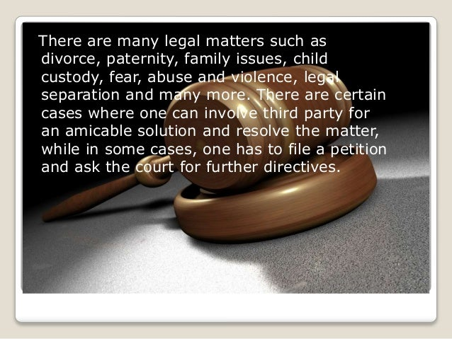 Legal matters! here someone to help Slide 3