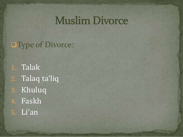 family law application in case