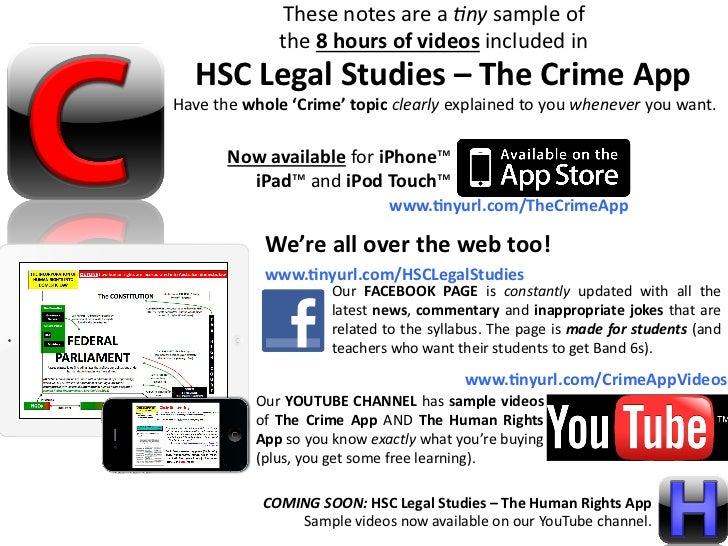 Band 6-ify Your HSC Legal Studies Extended Responses