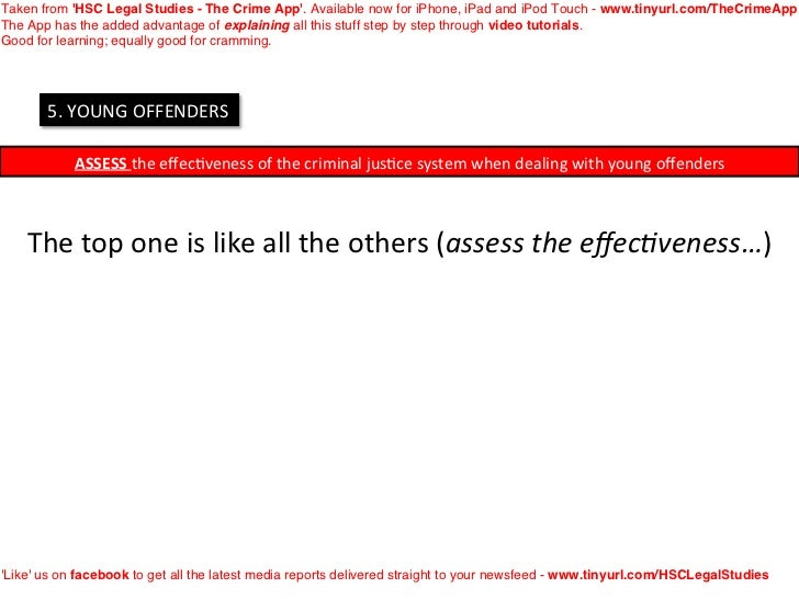 Taken from HSC Legal Studies - The Crime App. Available now for iPhone, iPad and iPod Touch - www.tinyurl.com/TheCrimeAppT...