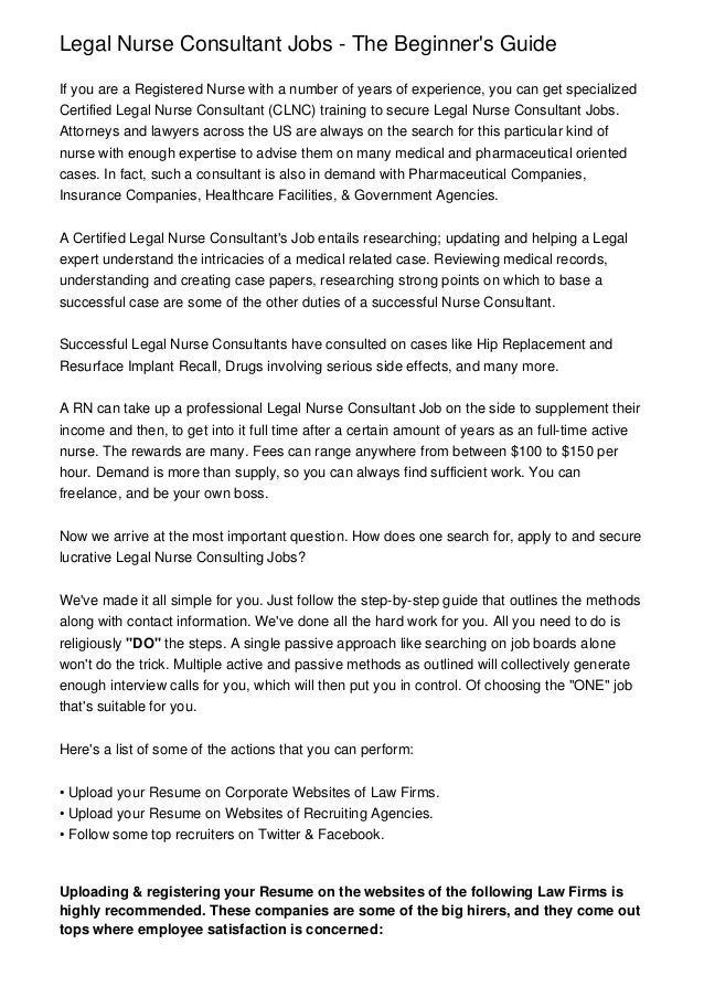 Legal Nurse Cover Letter. Forensic Nurse Cover Letter. Best ...