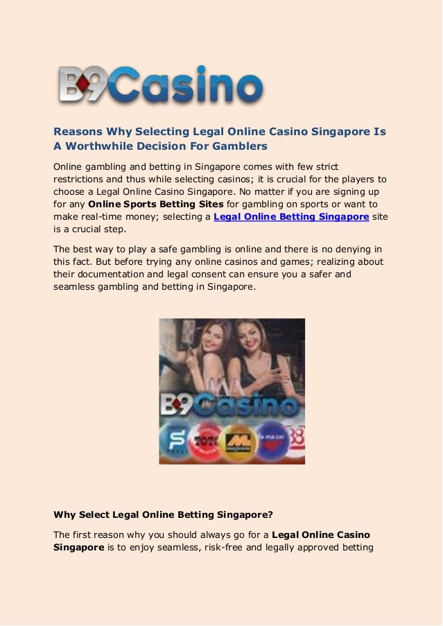 Gambling restrictions singapore perles de baccarat